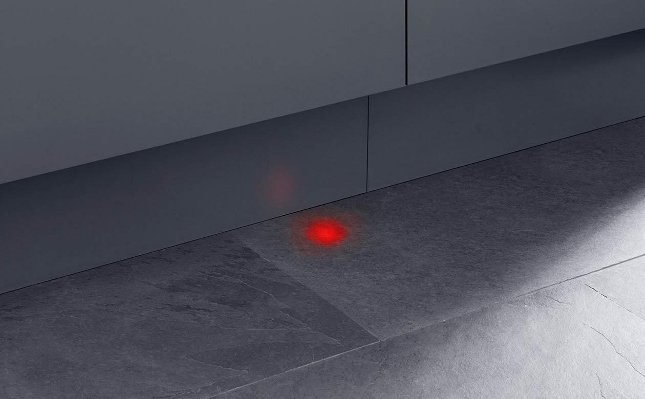 Indikátor provozu na podlahu