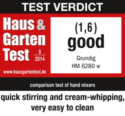 Haus & Garten Test05/2014Test result: GOOD