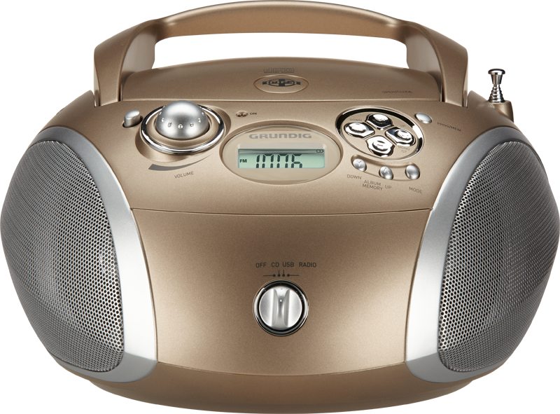 GRB 4000 BT Blau/Silber CD-Radios