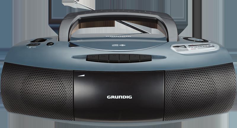 Farbenfroh Grundig Radiorecorder Mit Cd Player