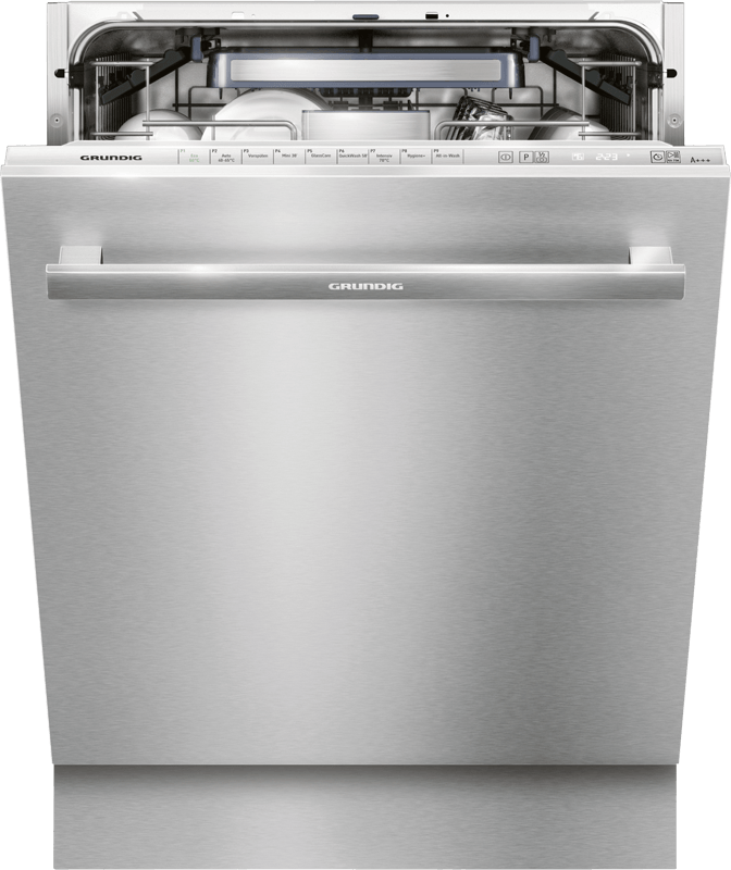 Grundig opvaskemaskine til underskab giver krystalklar opvask