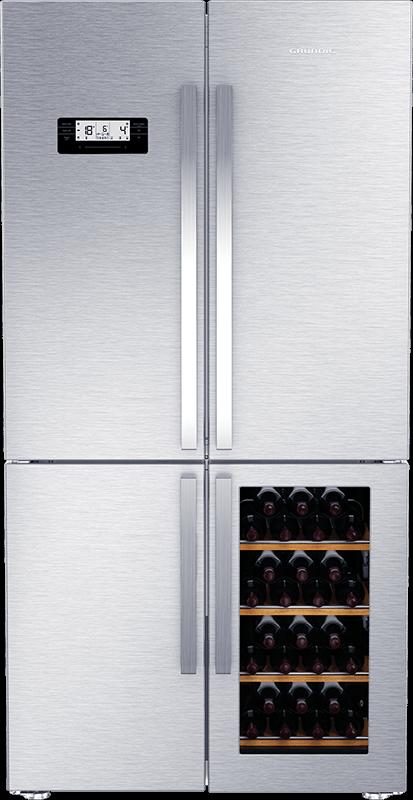 Freistehender kühlschrank