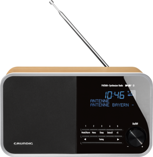 DTR 4000 DAB+ BT Oak - Digitalradio