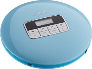 GCDP 8000 Gentle Blue - CD-Portable