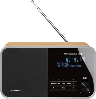 DTR 3000 DAB+ Oak - Digitalradio
