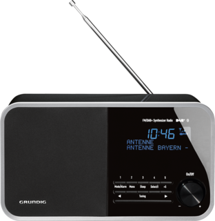DTR 4000 DAB+ BT Black - Digitalradio
