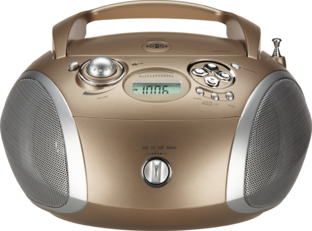 GRB 2000 Travertin/Silber - CD-Radios