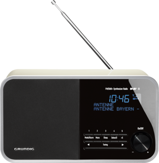 DTR 4000 DAB+ BT White - Digitalradio