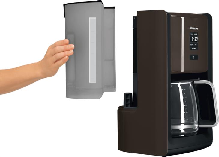thermo kaffeemaschine mit abnehmbaren wassertank. Black Bedroom Furniture Sets. Home Design Ideas