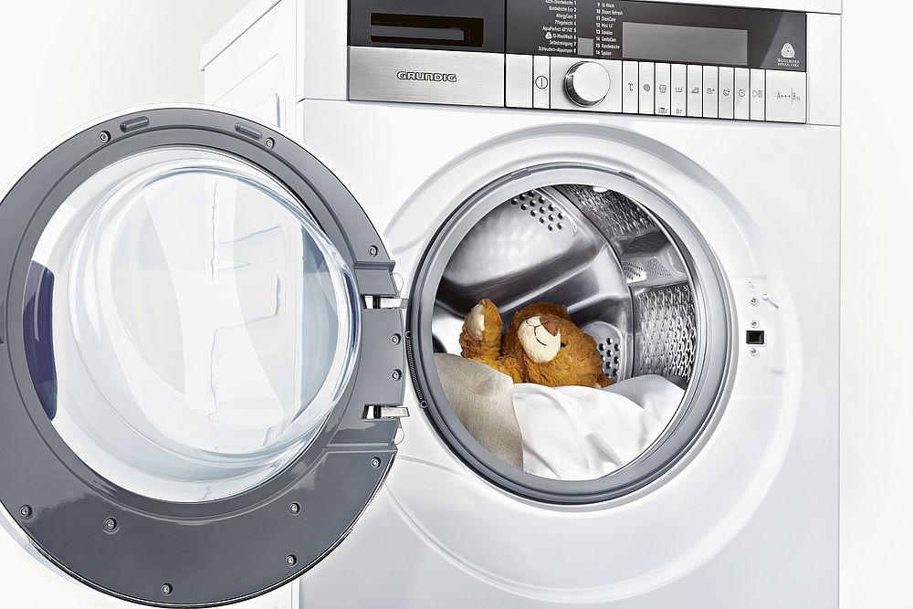 Hvor mye vann bruker en vaskemaskin på en vask
