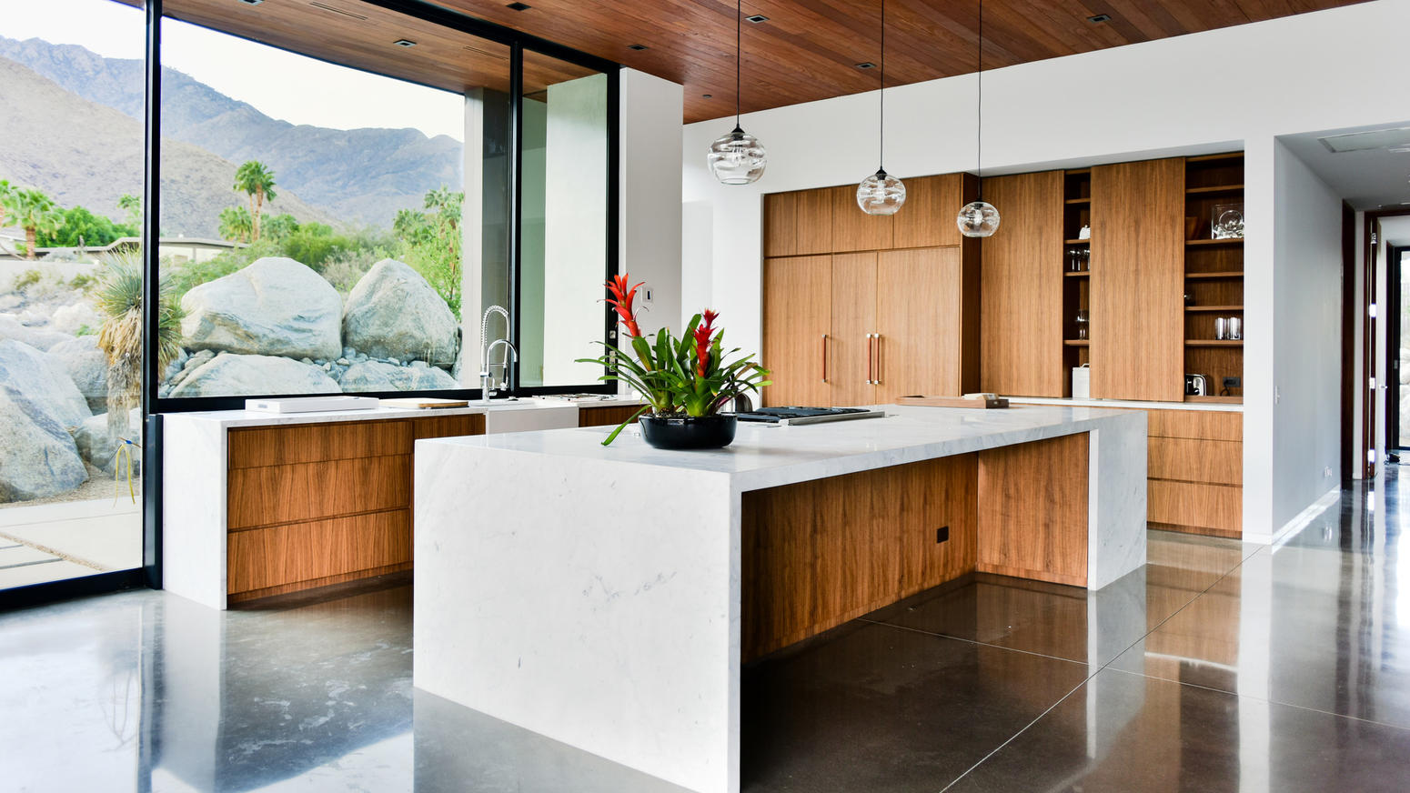 Kitchens With Hints Of Palm Springs Kitchen Magazine