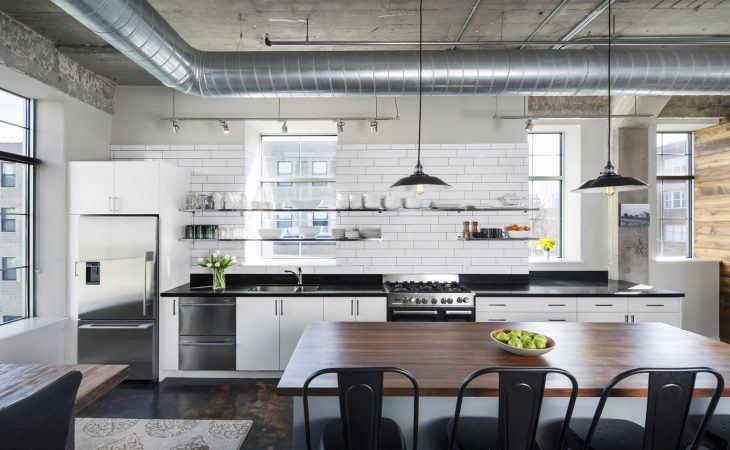 Pleasant New York Loft Kitchens Kitchen Magazine Home Interior And Landscaping Eliaenasavecom