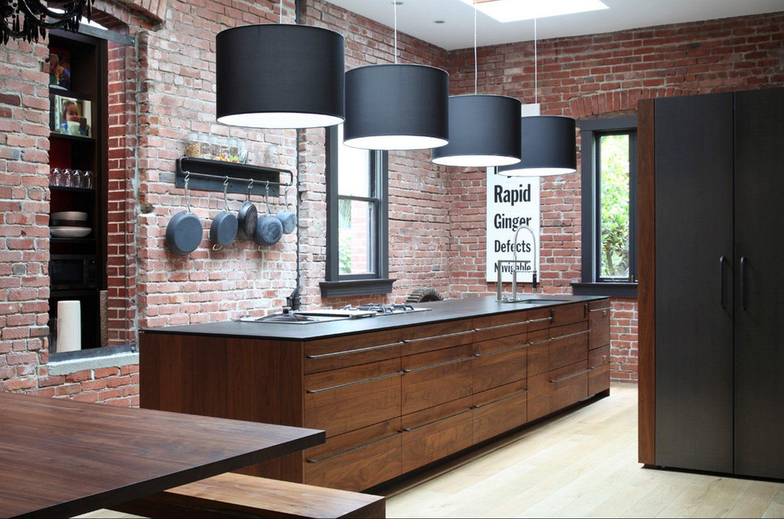 Creative, Sleek Uses of Brick in Your Kitchen   Kitchen Magazine