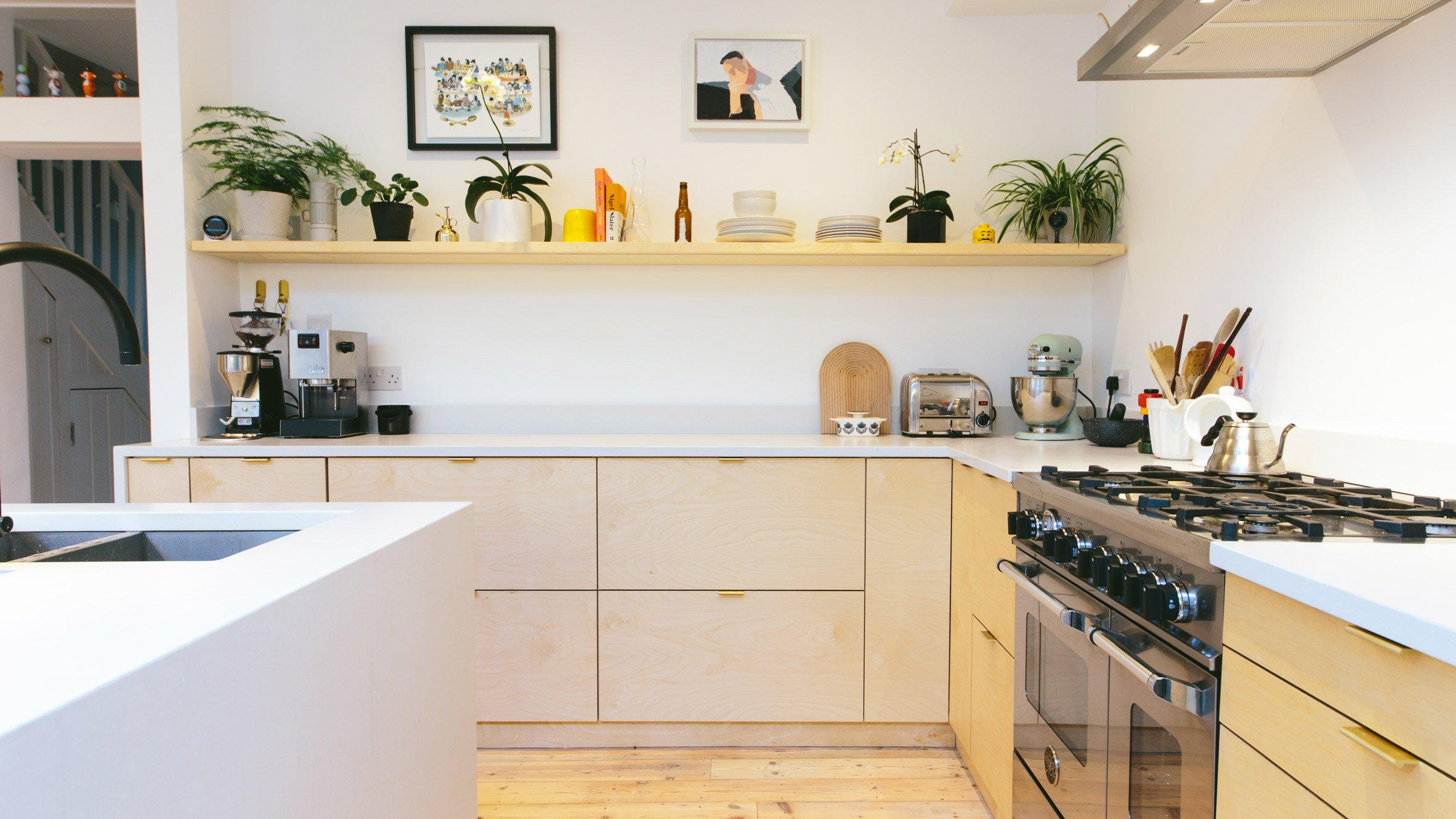 Natural Wood Kitchen Cabinets Images
