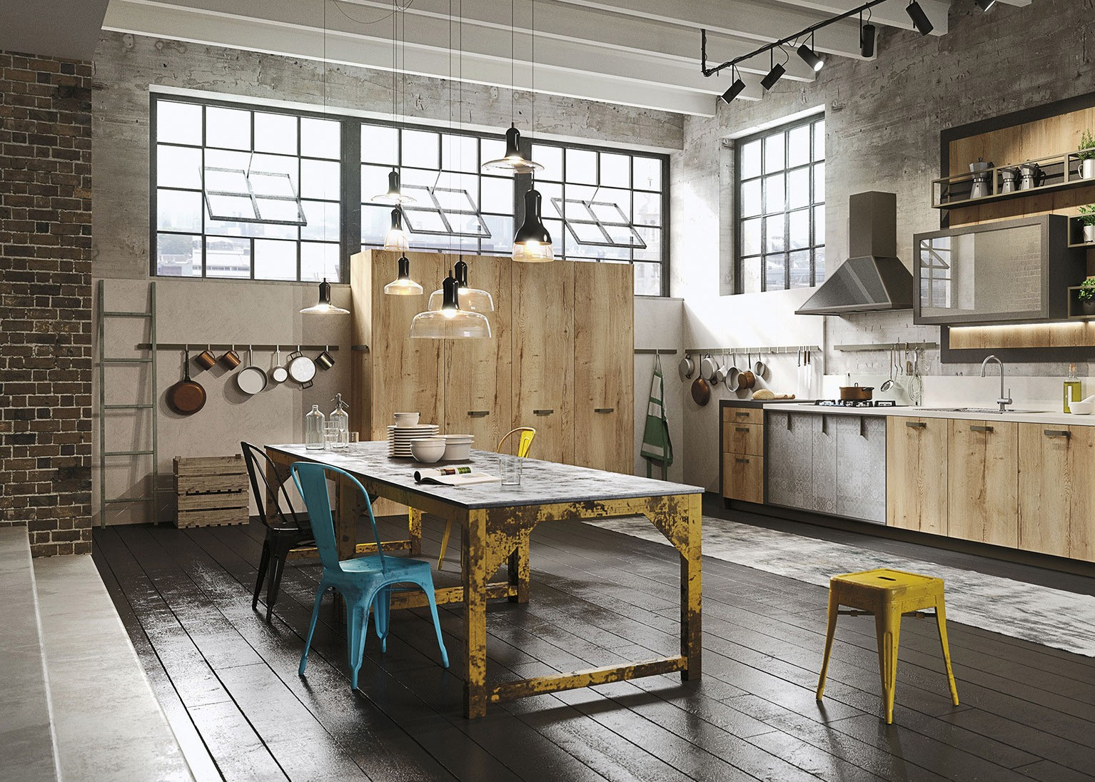 New York Loft Kitchens | Kitchen Magazine