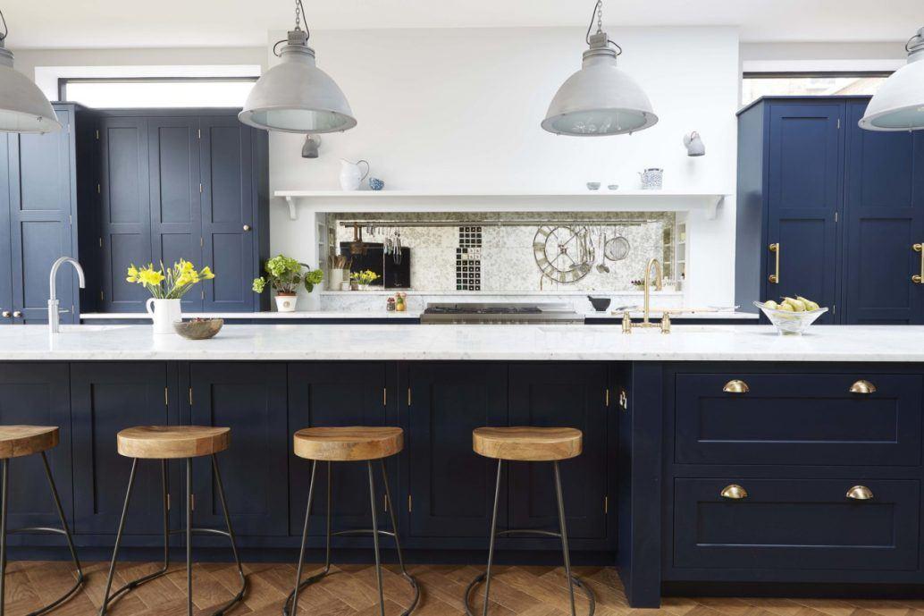 Dark Blue Kitchens Images Gallery