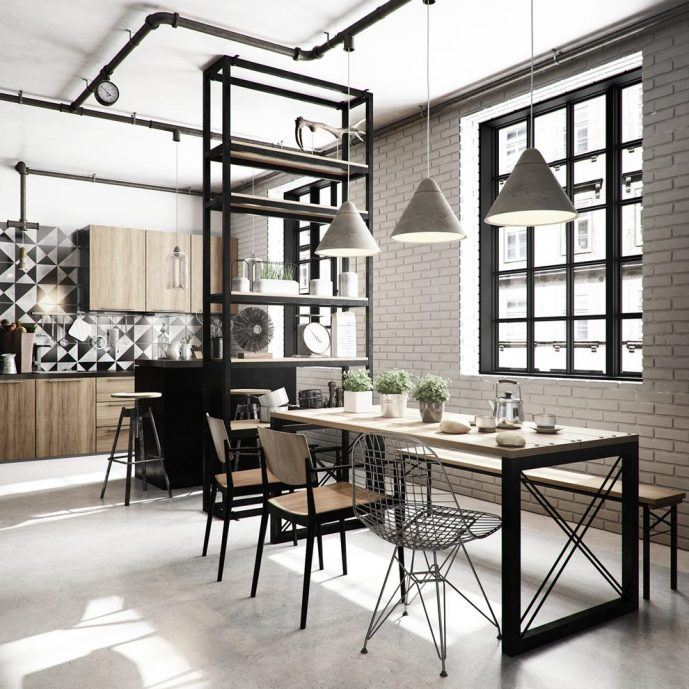 4 Elements Could Bring Out Traditional Kitchen Designs: Manhattan Kitchens Images [GALLERY]
