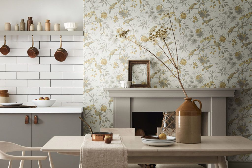 How To Choose Wallpaper For Your Kitchen Kitchen Magazine