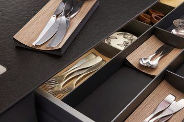 Space factory dining and kitchen utensils